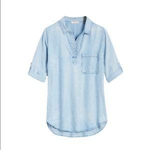 Skies Are Blue Chambray Shirt